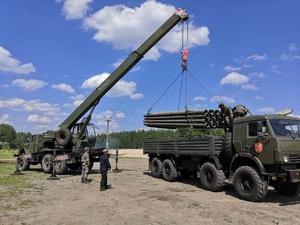 Дзержинские военные построят трубопровод в Крыму